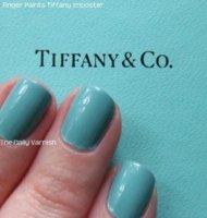 Tiffany and Co blue coloured nail polish? - PurseForum