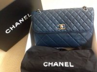 Chanel navy business flap dust bag.jpg