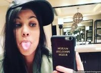 promo code b6f51 58124 Kourtney Kardashian iPhone case with kids names - PurseForum