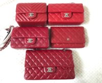 23a20b8a2a7ece Middle - 17B Rect mini, 00V WOC Bottom 12A M/L Classic flap. All is caviar  with silver hardware