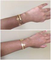 Between Sizes On The Love Bracelet