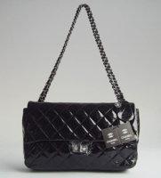 Chanel Classic Black Logo Flap Bag.jpg