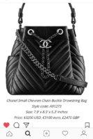 0b2351e4011b Chanel 2016 Deerskin chevron small drawstring bucket bag - PurseForum