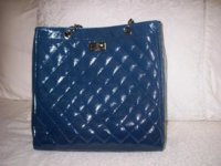 CHANEL - Patent Blue Caviar Shopper Bag.JPG