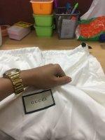 25b8e51ffd52bb New white Gucci dust bag made in China? - PurseForum