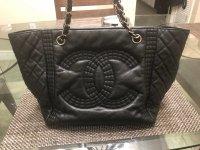 ac9790d2e200 Item  Chanel Bengal Tote Serial Number  16553381. Seller  Rebag (through  Tradesy)