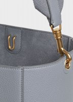 Sangle Bucket Bag in Medium Grey Soft Grained Calfskin 189593AH4.09GM_4_SPR19_110702.jpg