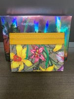 Gucci GG Yellow Flora Ophidia Card Holder 4.jpg