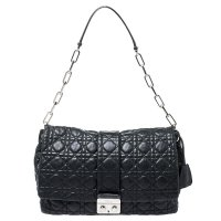 referenz dior-Black-Black-Cannage-Leather-New-Lock-Flap-Bag.jpeg