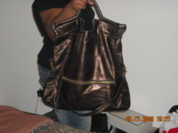 Foley & Corinna City Tote, Metallic Bronze.jpg