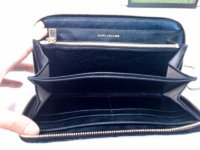 large zip wallet in dark grey interior.JPG