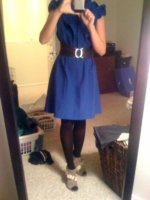 blue dress with bootie.jpg